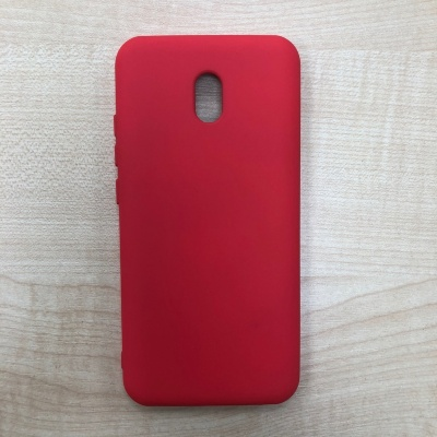 Накладка для Redmi 8A Silicone Case Red